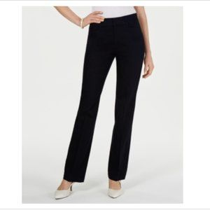 NWT Charter Club Tummy Control Navy Trousers -8S